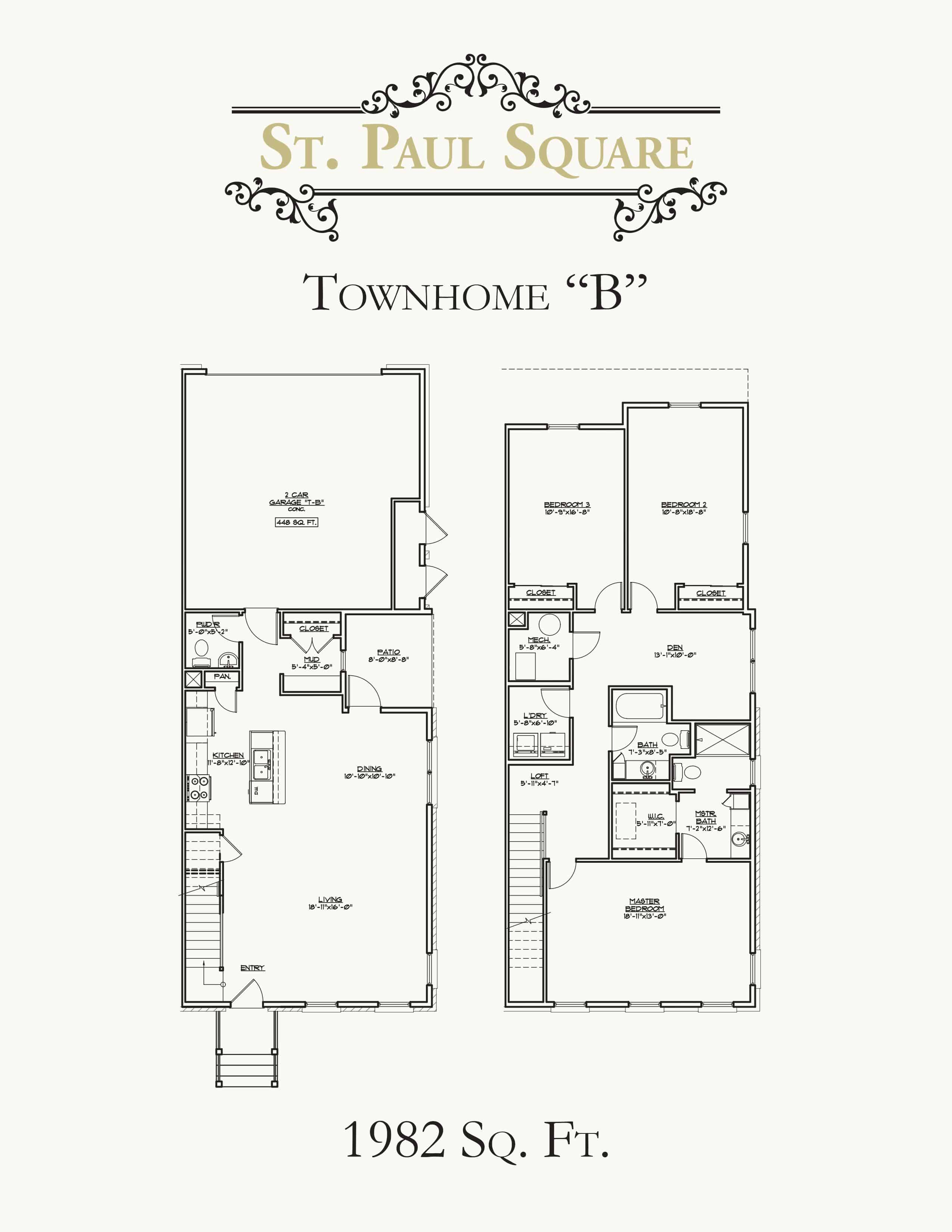 St Paul Square Townhouse B