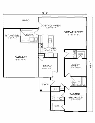 The Bankstone Floorplan