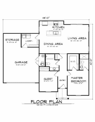 The Cobblestone Floorplan