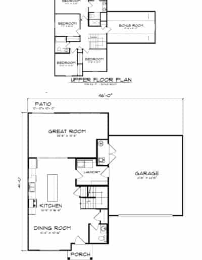 The Kingstone Floorplan