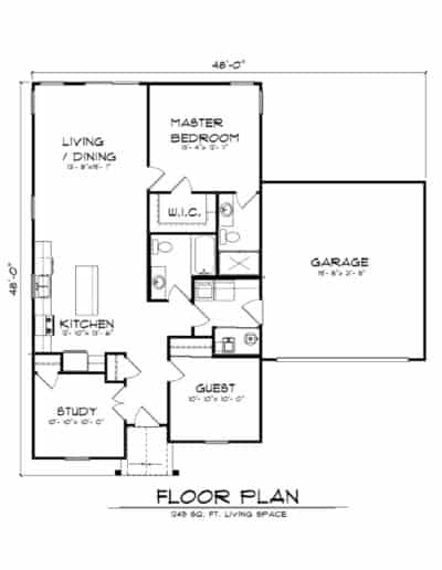The Shalestone Floorplan