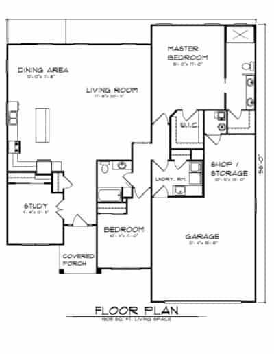 The Walnut Grove Floorplan