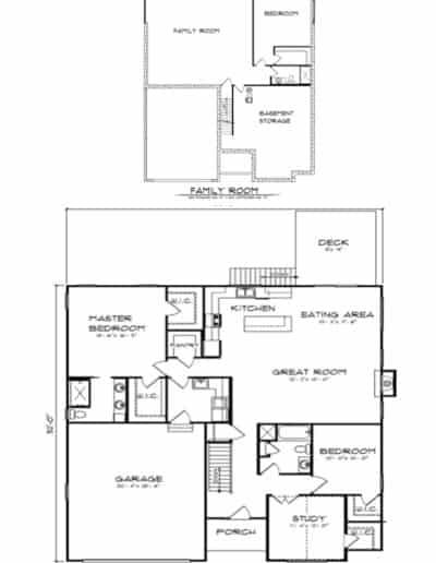 The Butternut Ridge Floorplan