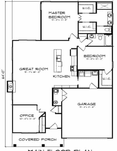 The Primrose On Slab Floorplan