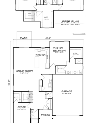 The Walnut Ridge_floorplan