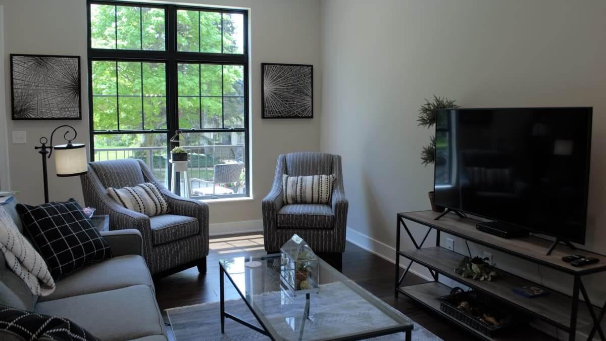 SPS TA Bldg 1 living room